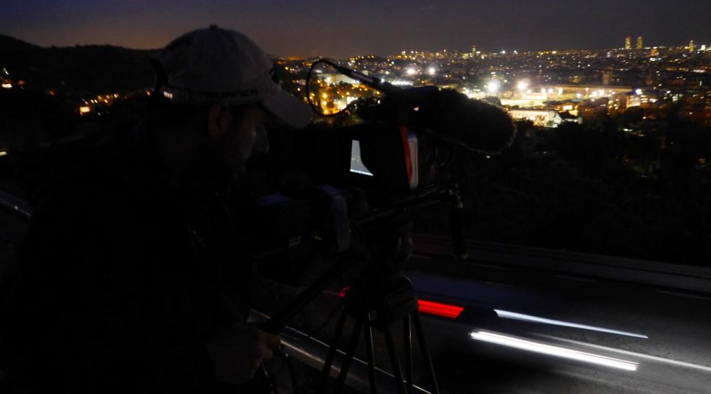 Raja Nundlall captures Barcelona at night.